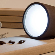 Green Decaf Lamp by Ral Lauri