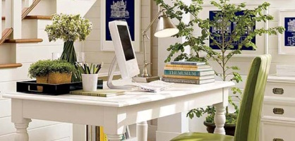 Home Office For Small Spaced Homes