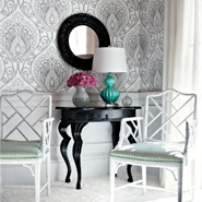 How To Decorate With Patterned Wallpaper