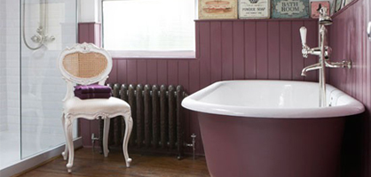How To Design Bathroom With Vintage Flair