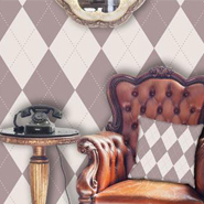 How To Design Interior With Diamond And Argyle Patterns