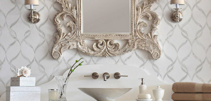 How To Design Striking Powder Room
