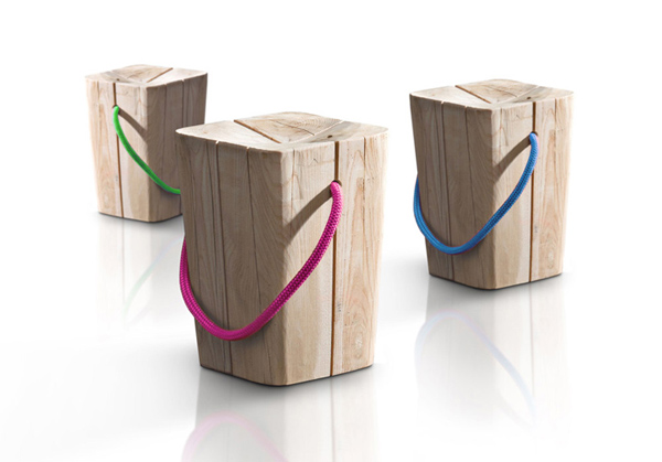 Hug Stool by Emo Design