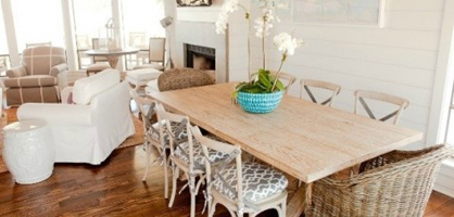 Ideas For Decorating Coastal Dining Room