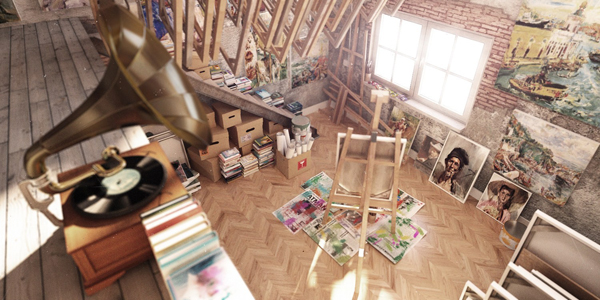 Ideas For Designing Beautiful Home Art Studio