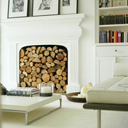 Ideas For Storing Wood Logs Indoors