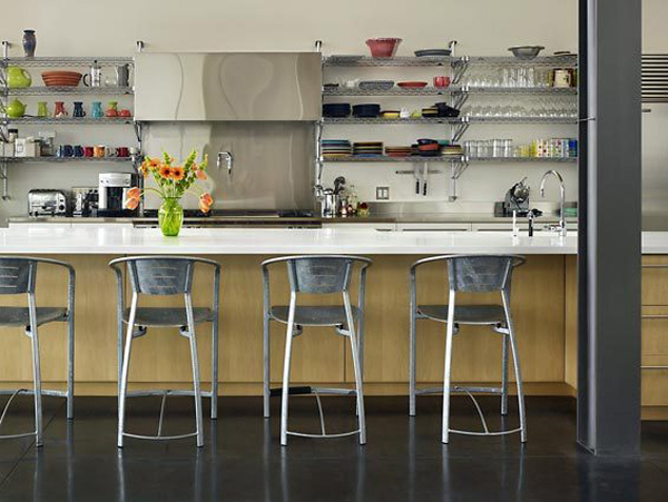 Industrial Chic Dining &amp; Kitchen Design Ideas