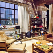 Industrial Loft: &#8216;New Girl&#8217; Set Design