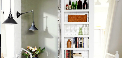 Kitchen Feature: Niche Shelves