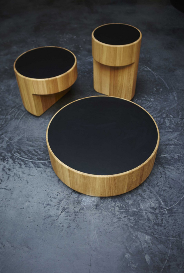 Levels Tables by Dan Yeffet and Lucie Koldova
