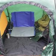 Home-Office in Tent