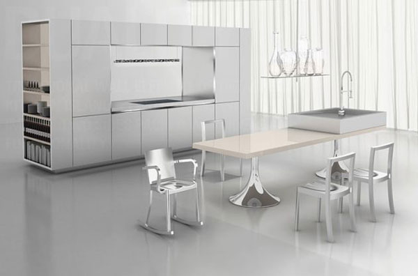 Modern Duality Kitchen by Philippe Starck