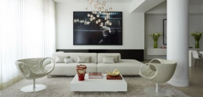 Modern Style Living Room Design Ideas