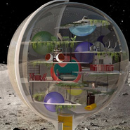 Dream House in Outer Space: Moon Villa