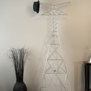 Nanton Coat Rack Shaped As Transmission Tower