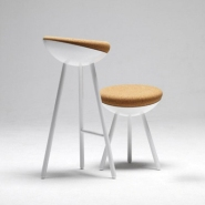 Nest-Like Stools by Note Design Studio