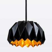 Origami-Inspired Ori Lamp by Lukas Dahln