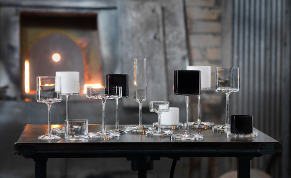 Orrefors Glassware Collection by Karl Lagerfeld