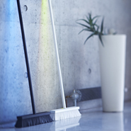 Peteris Zilbers&#8217; Broom-Shaped Lamp Changes Colors To Suit Mood