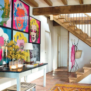 Pop Art Style In Interior Design