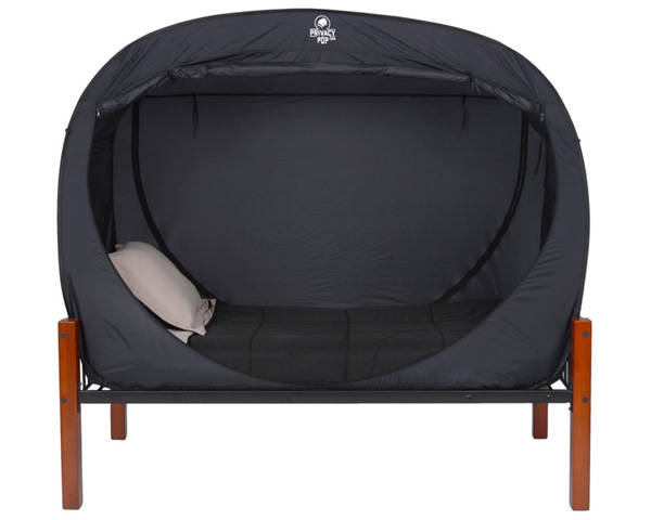 Privacy Pop Bed Tent For Shared Accommodation
