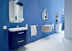 Remodeling: Stylish Blue Bathroom Ideas