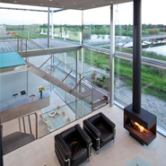 Rieteiland House Made Of Glass