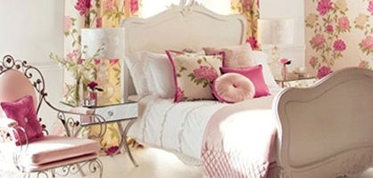 Romatic Design: Shabby Chic Bedroom