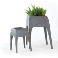 Safari Planters by Kenneth Cobonpue