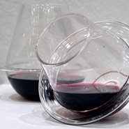 Saturn Wine Glasses by Fragile Studios