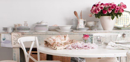Shabby Chic Dining Room Design Ideas