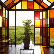 Solarium – Greenhouse Made Of Sugar