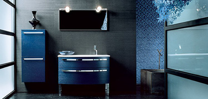 Stylish Blue Bathroom Design Ideas