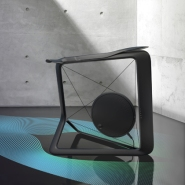 Stylish Gym Equipment: Vela Cycle Trainer by Lunar