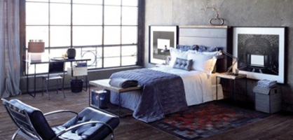 Stylish Industrial Chic Bedroom Designs