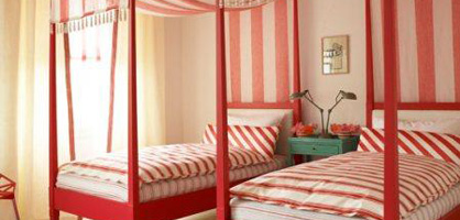 Stylish Shared Kid&#8217;s Room For Girls