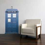 TARDIS-Inspired Interior Decorations