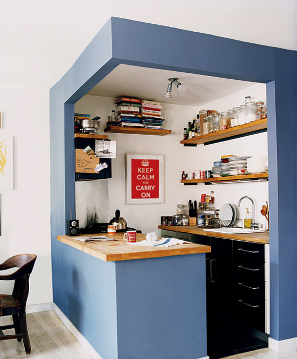 Tiny Kitchen Design Solutions