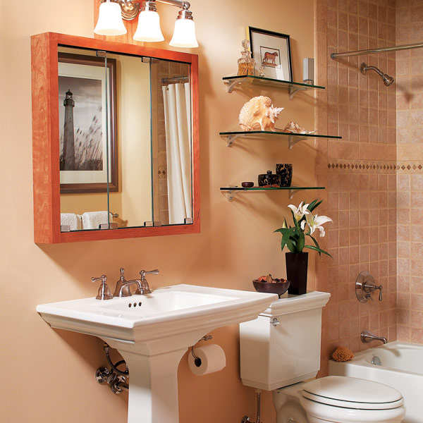 Tips to Organizing Small Bathroom
