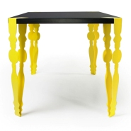Traditional-Modern Flab Table
