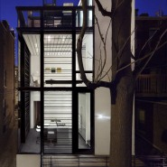 Transparent Abode: Barcode House by David Jameson Architect
