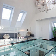Transparent Panels In Flooring