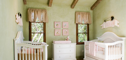 Twins&#8217; Nursery Design Ideas