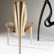 Twirling Wood Furniture by Joseph Walsh