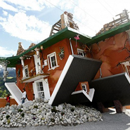 Terfen Upside Down House