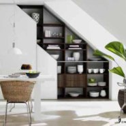 Use Staircases For Additional Storage Space