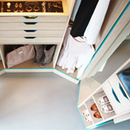 Walk-In Closet For Small-Spaced Homes