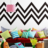 Zigzag Print In Interior Design