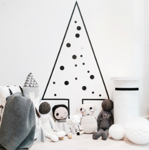 Washi-tape-Christmas-tree-alternative1