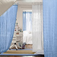 7 Unusual Ways to Use Curtains in Interior